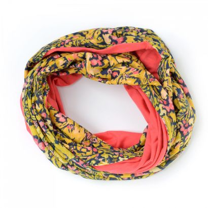 Oilily Camo Flowers Loop Pineapple