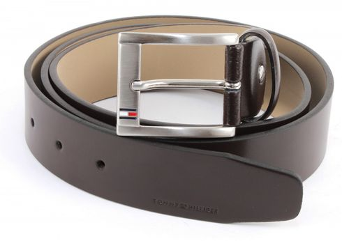 TOMMY HILFIGER Trenton Belt W115 Dark Brown