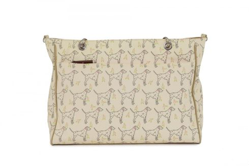 Pink Lining Bramley Tote Sam The Dalmatian