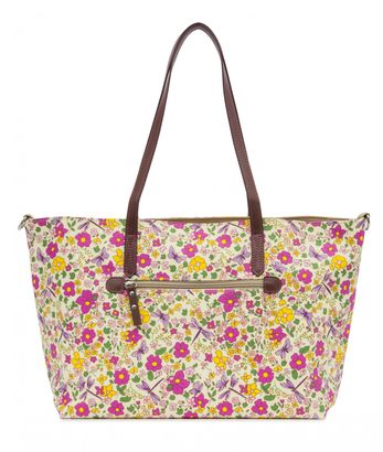 Pink Lining Notting Hill Tote Cottage Garden