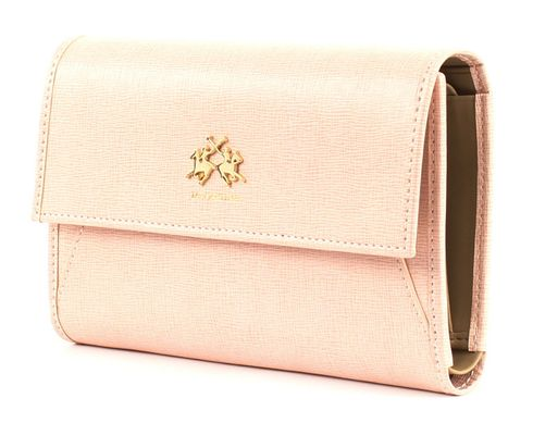 LA MARTINA La Portena Flap Wallet Light Pink