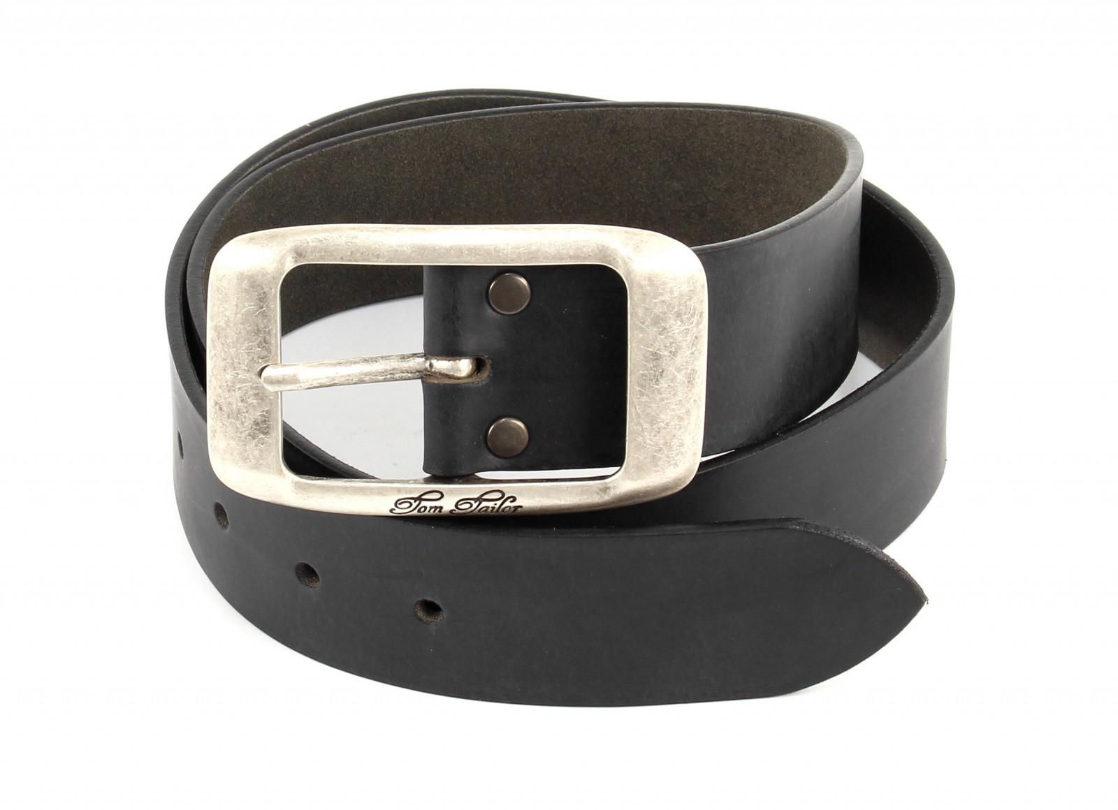 TOM TAILOR Belt TW1003R01 W85 Black