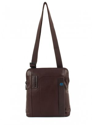 PIQUADRO Pulse Shoulder Pocketbag Cioccolata