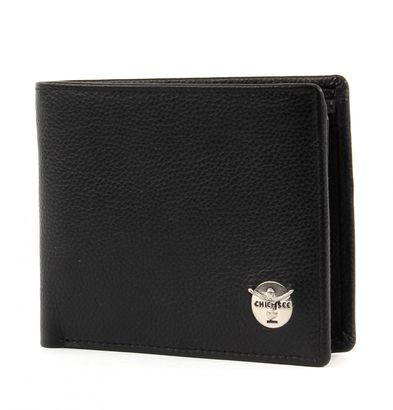 CHIEMSEE Classic Note Wallet with Flap Black