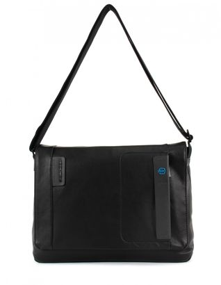 PIQUADRO Pulse Briefcase with Flap Nero