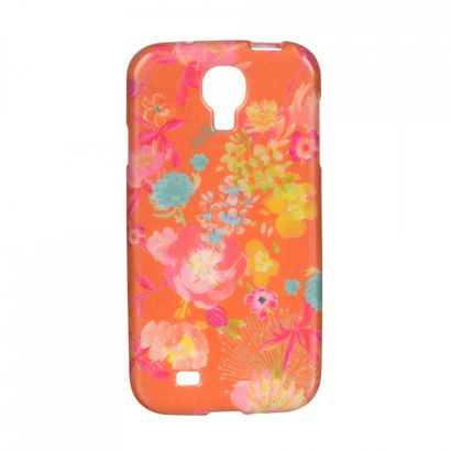Oilily Tropical Peony Galaxy S4 Case Orange