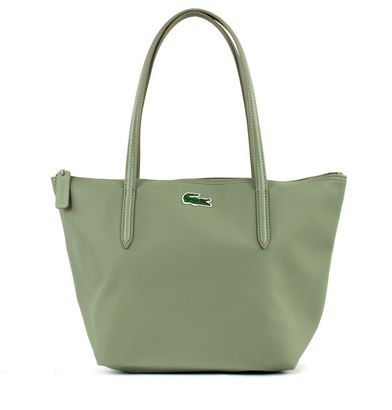 LACOSTE L.12.12 Concept Medium Small Shopping Bag Seagrass