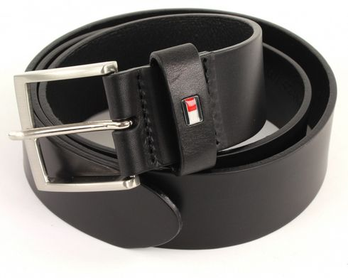 TOMMY HILFIGER New Denton Belt W100 Black
