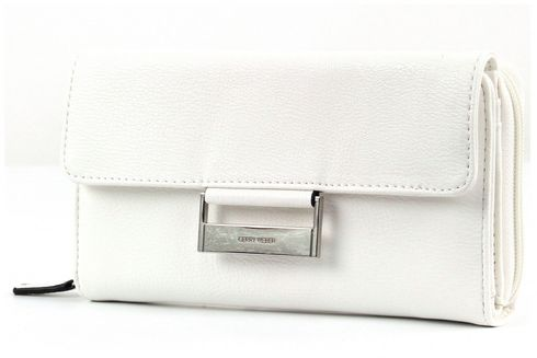 GERRY WEBER Talk Different Ladies Purse Large White