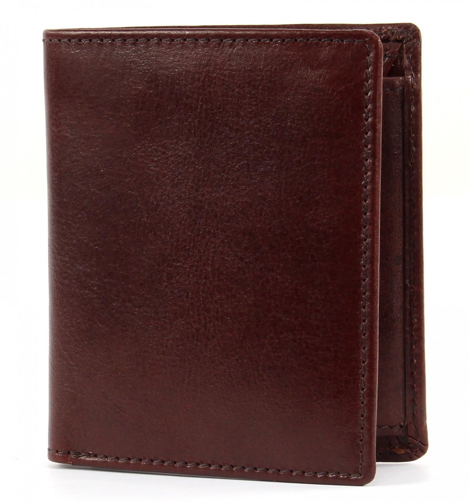 LEONHARD HEYDEN Cambridge Combi Wallet S Redbrown
