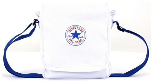 CONVERSE Legacy Canvas Small Flap Bag Converse White