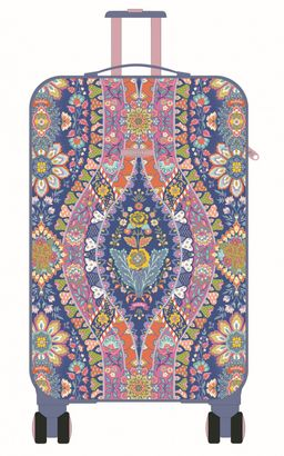 "Oilily Travel Paisley Trolley 29"" Navy"