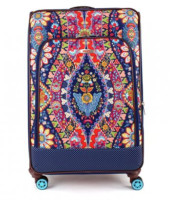 Oilily Travel Paisley L Trolley Spinner Navy
