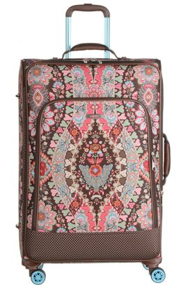 Oilily Travel Paisley L Trolley Spinner Brown