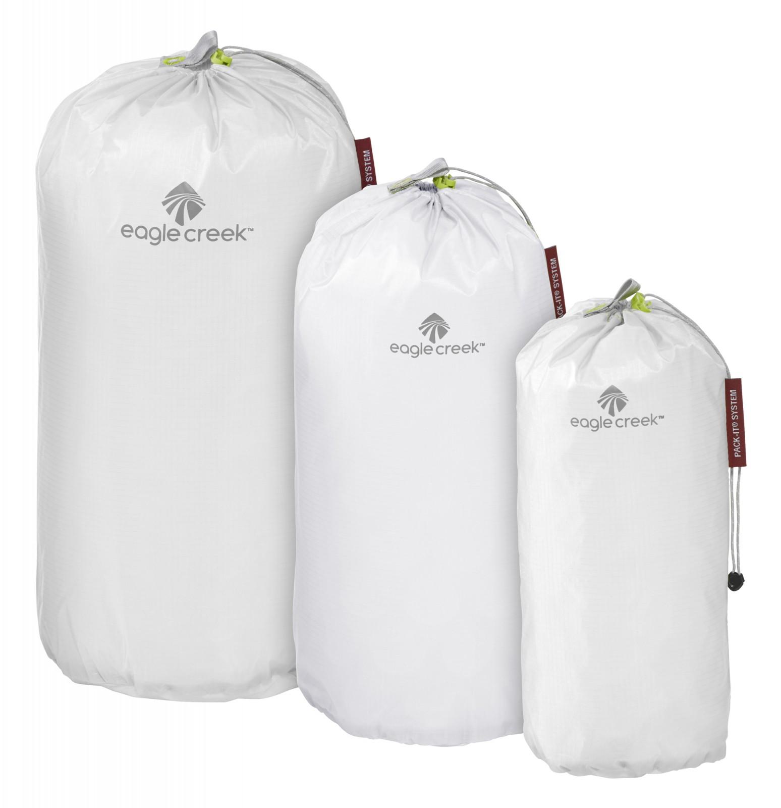 eagle creek Pack-It Specter Stuffer Set S / M / L White / Strobe