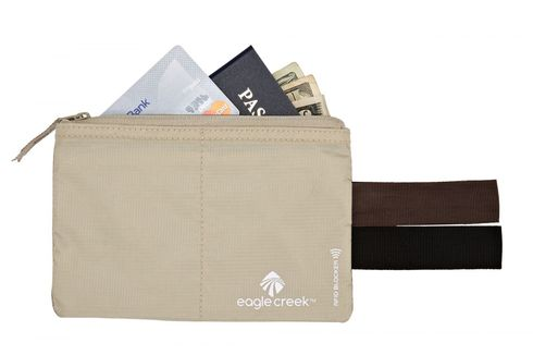 eagle creek Necessities RFID Blocker Hidden Pocket Tan