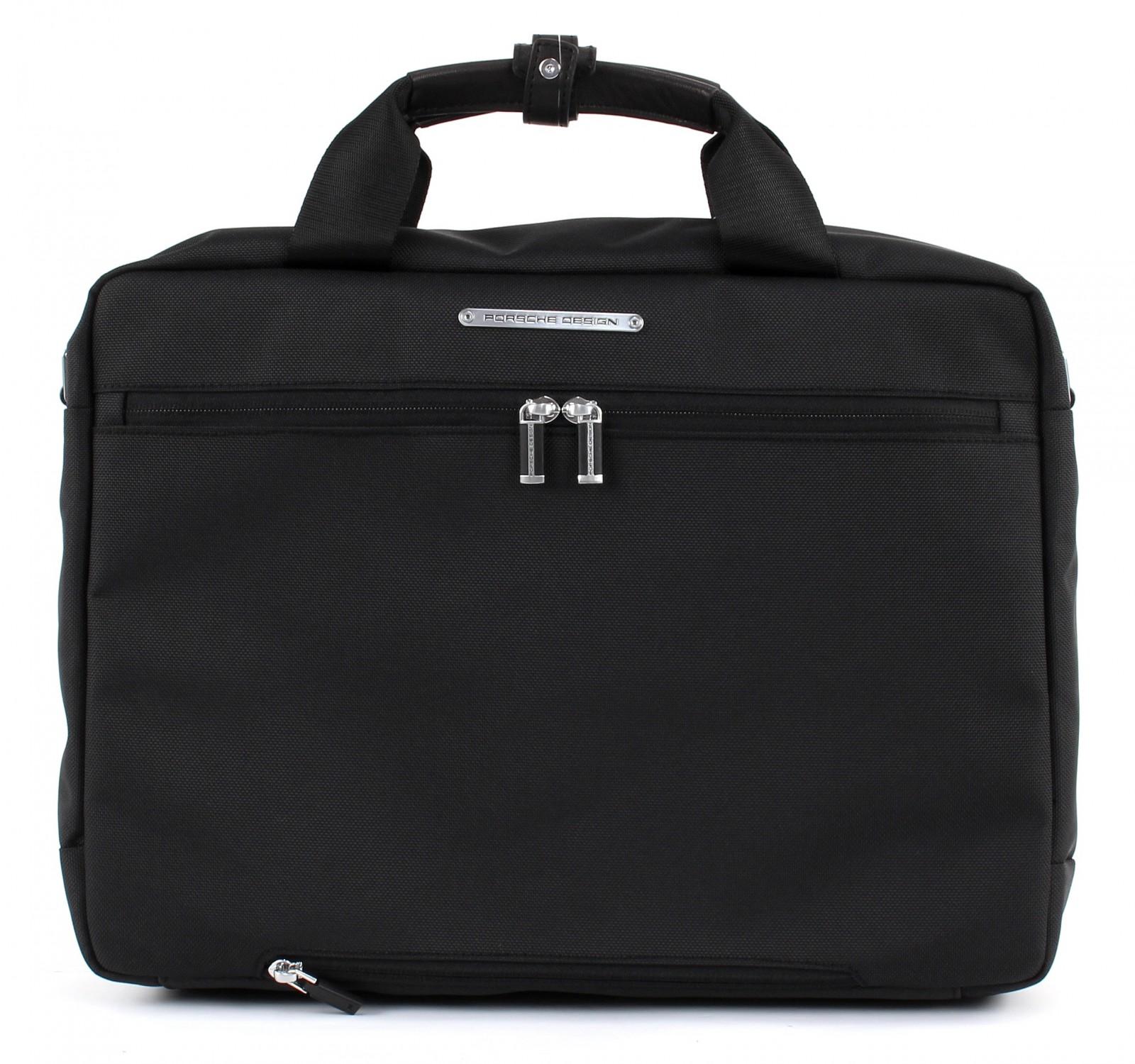 porsche design briefcase roadster 3 0 briefbag mmh black. Black Bedroom Furniture Sets. Home Design Ideas