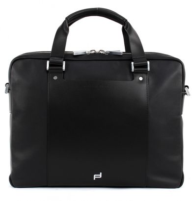 PORSCHE DESIGN Shyrt-Leather BriefBag MZ2 Black