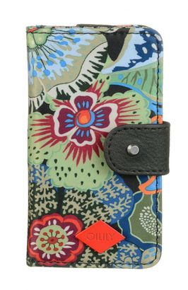 Oilily Kiwano iPhone 5 Flap Case Black Ink