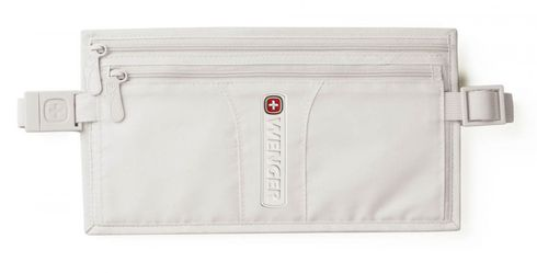 WENGER Double-Pocket Money Belt Light Grey