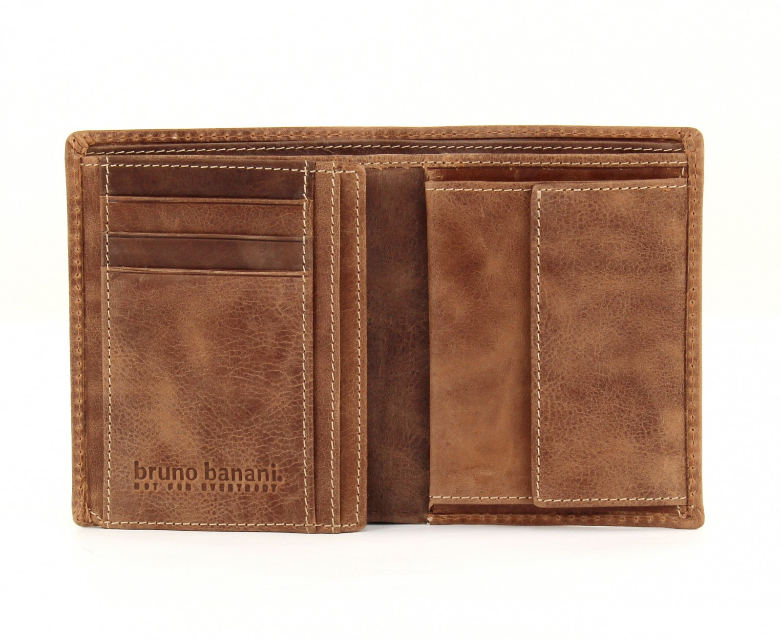 bruno banani Vista Classic Wallet High Cognac / Brown