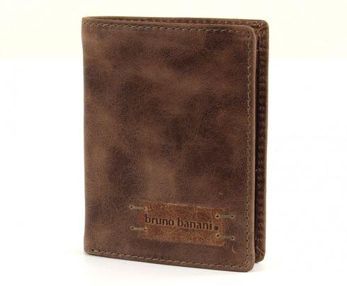 bruno banani Vista Classic Wallet High Brown / Cognac
