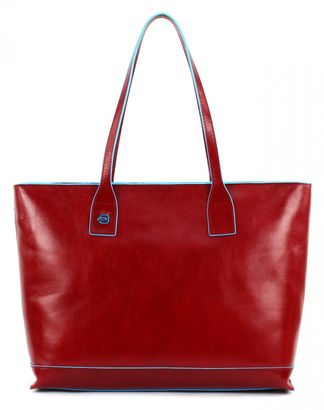 PIQUADRO Blue Square Office Shopper Rosso