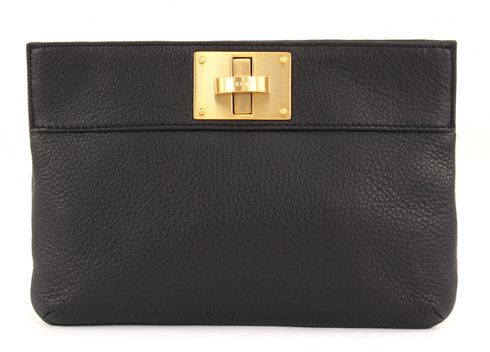 JOOP! Nature Grain Nana Clutch Black