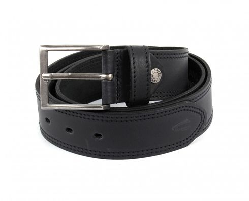 Camel Active Stiched Belt W115 Black