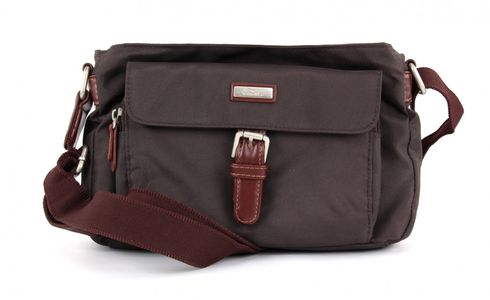 TOM TAILOR Rina Crossover Bag Brown
