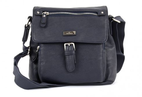 TOM TAILOR Rina PU Shoulderbag with Flap Blue