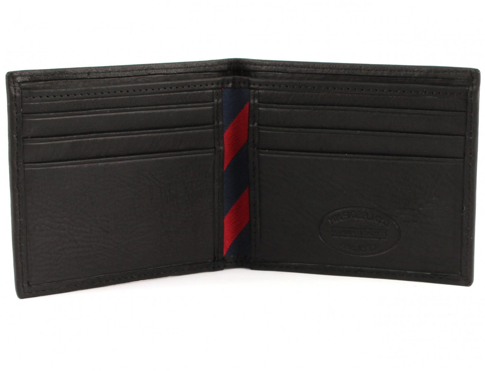 TOMMY HILFIGER Johnson Mini CC Wallet Black