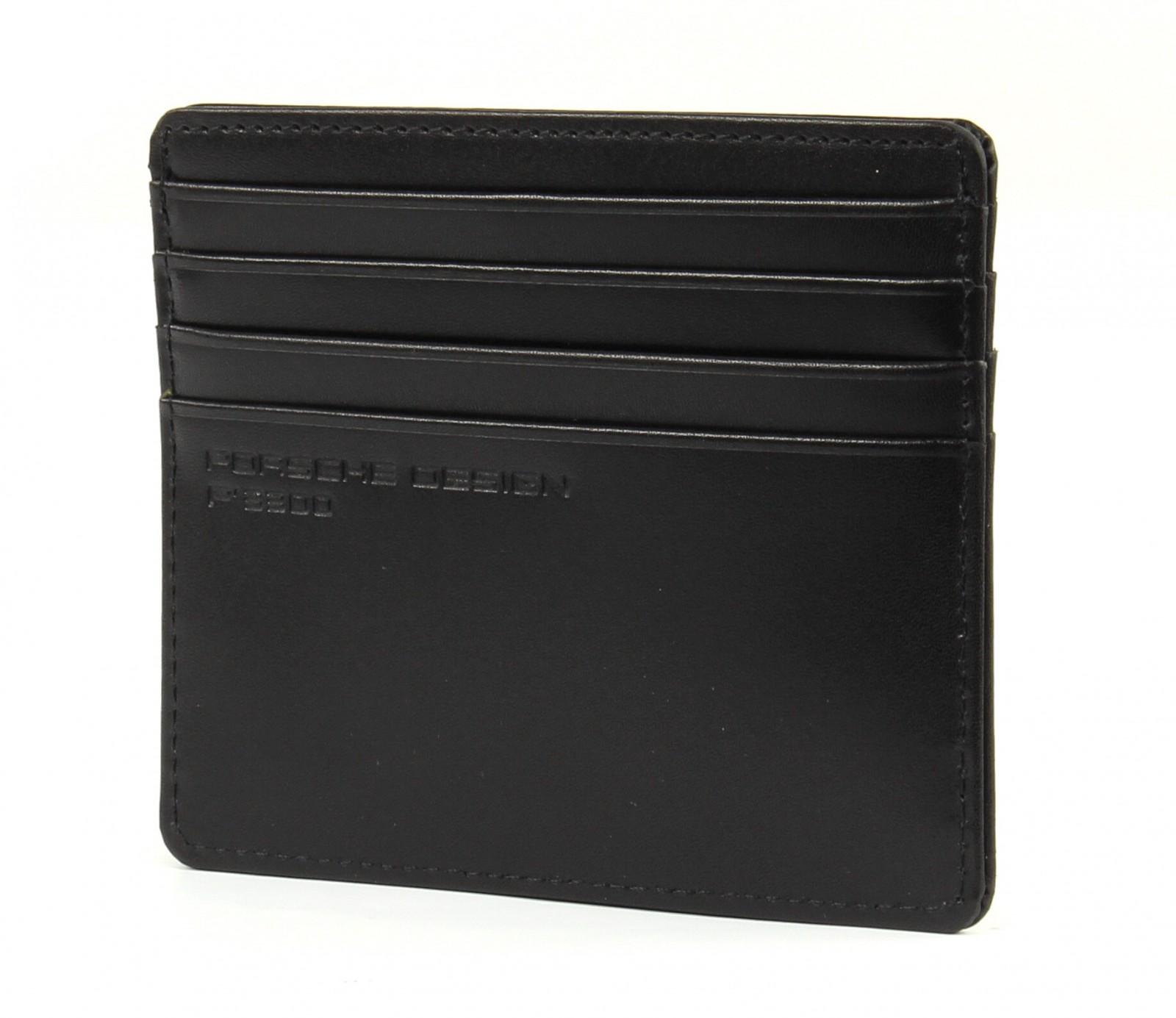 PORSCHE DESIGN Classic Line 2.1 Card Holder SH8 Black