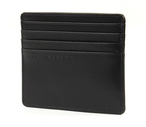 PORSCHE DESIGN Classic Line 2.1 Card Holder SH8 Black