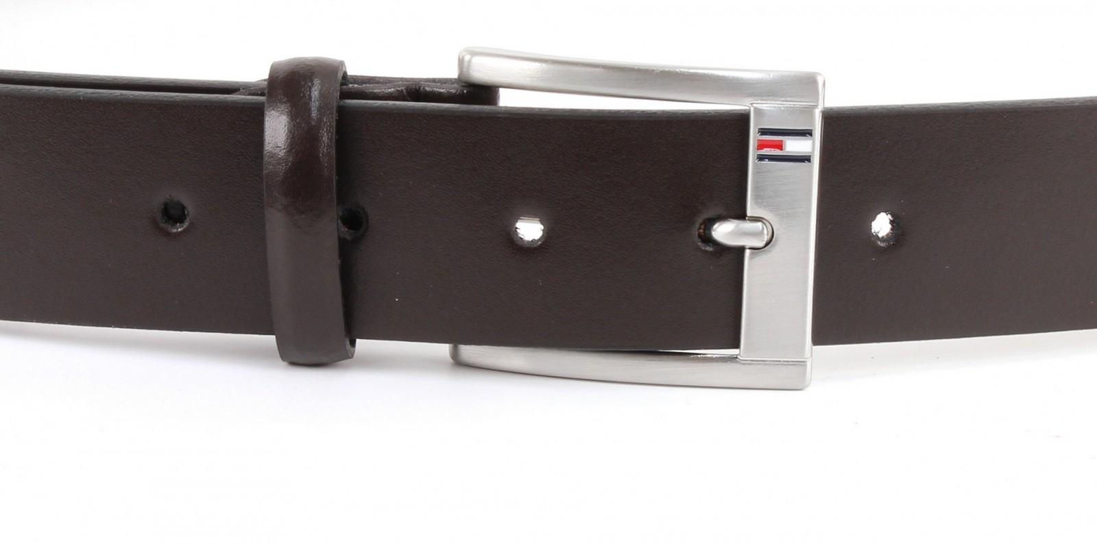 TOMMY HILFIGER Trenton Belt W80 Dark Brown