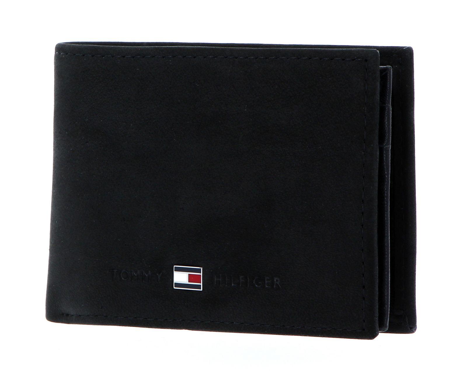 TOMMY HILFIGER Johnson Mini CC Flap and Coin Pocket Black