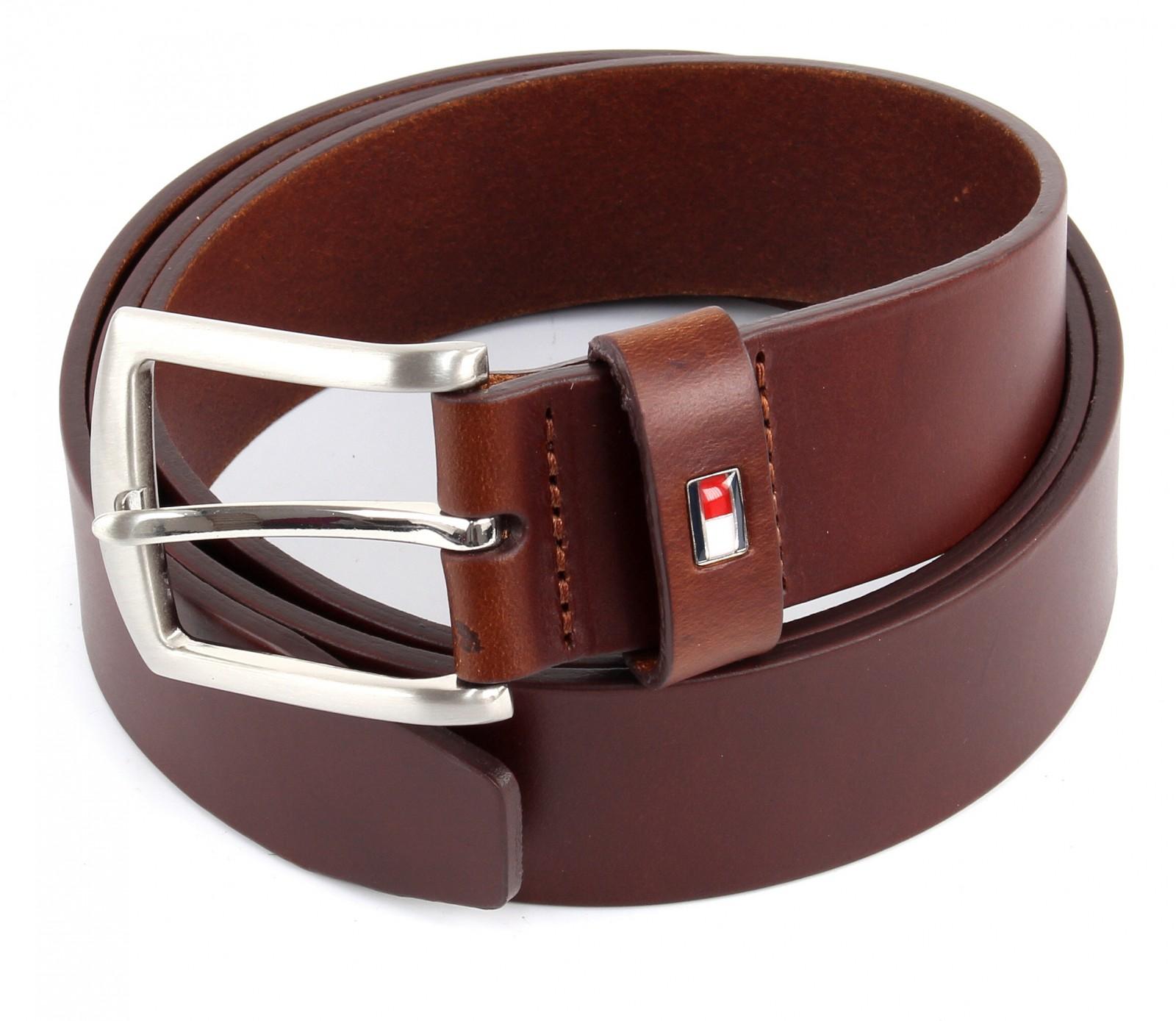 tommy hilfiger new denton belt w85 g rtel lederg rtel herreng rtel braun ebay. Black Bedroom Furniture Sets. Home Design Ideas