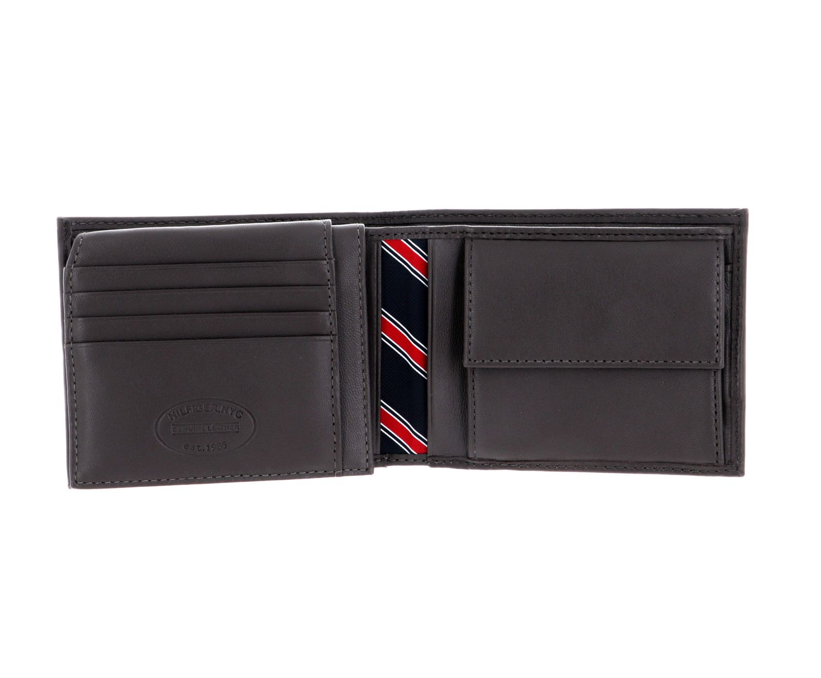 TOMMY HILFIGER Eton CC Flap and Coin Pocket Brown