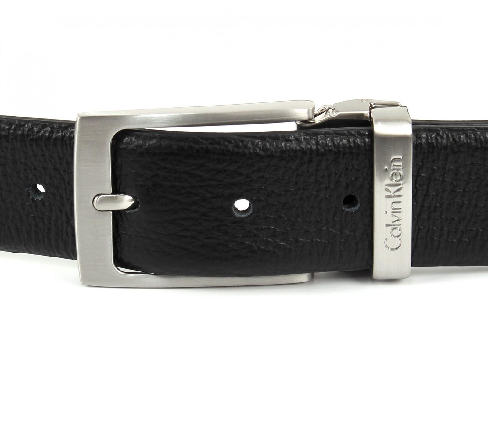 Calvin Klein Stand Alone Adjustable Pebble Belt W105 Black