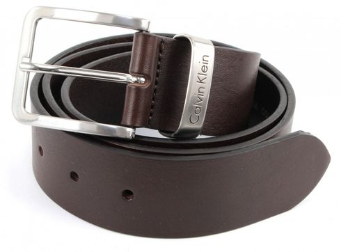 Calvin Klein Mino Belt 1 W110 Dark Brown
