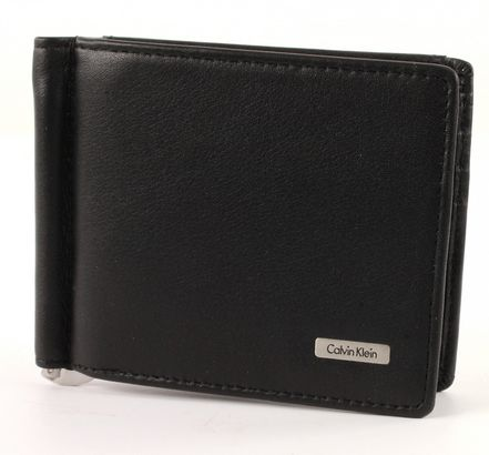 Calvin Klein Rail Moneyclip 8 Black