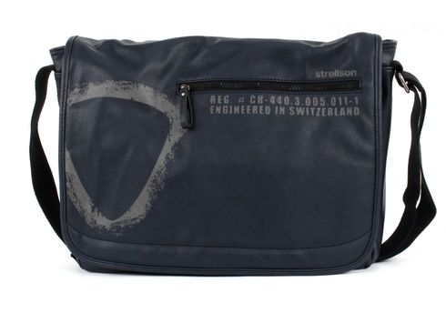 strellson Paddington Messenger LH Dark Blue