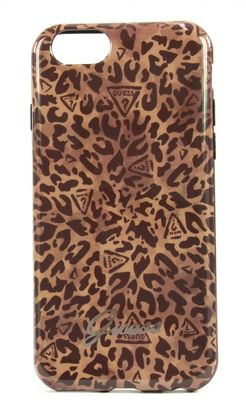 GUESS Winter Savannah Not Coordinated Covers Tpu Case iPhone 6 Black