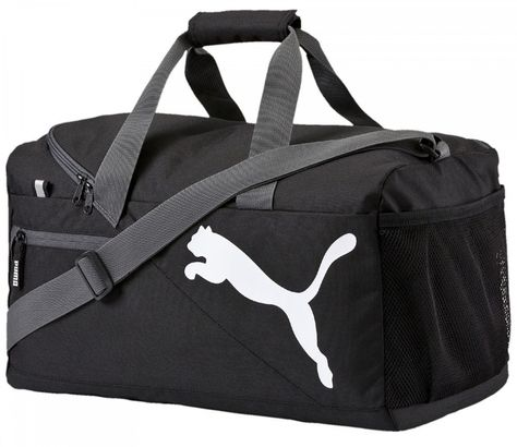 PUMA Fundamentals Sports Bag S Black