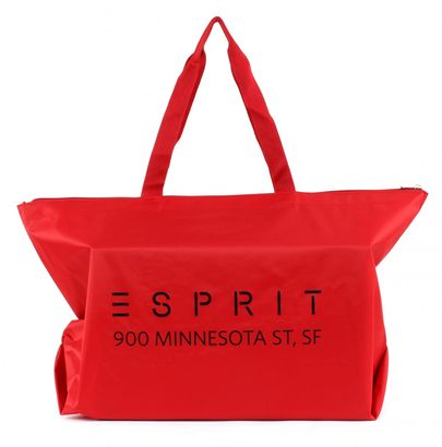 ESPRIT Minnesota Large Shopper Dark Red