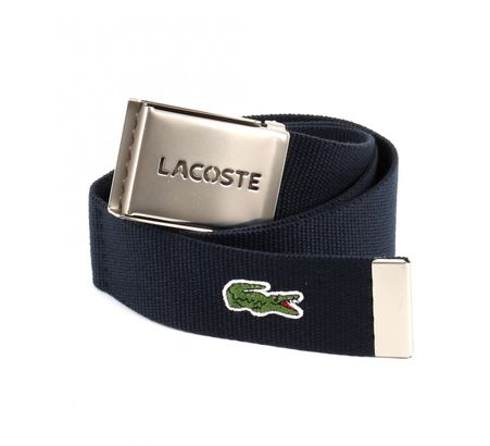 LACOSTE Gift Box Woven Strap W110 Navy