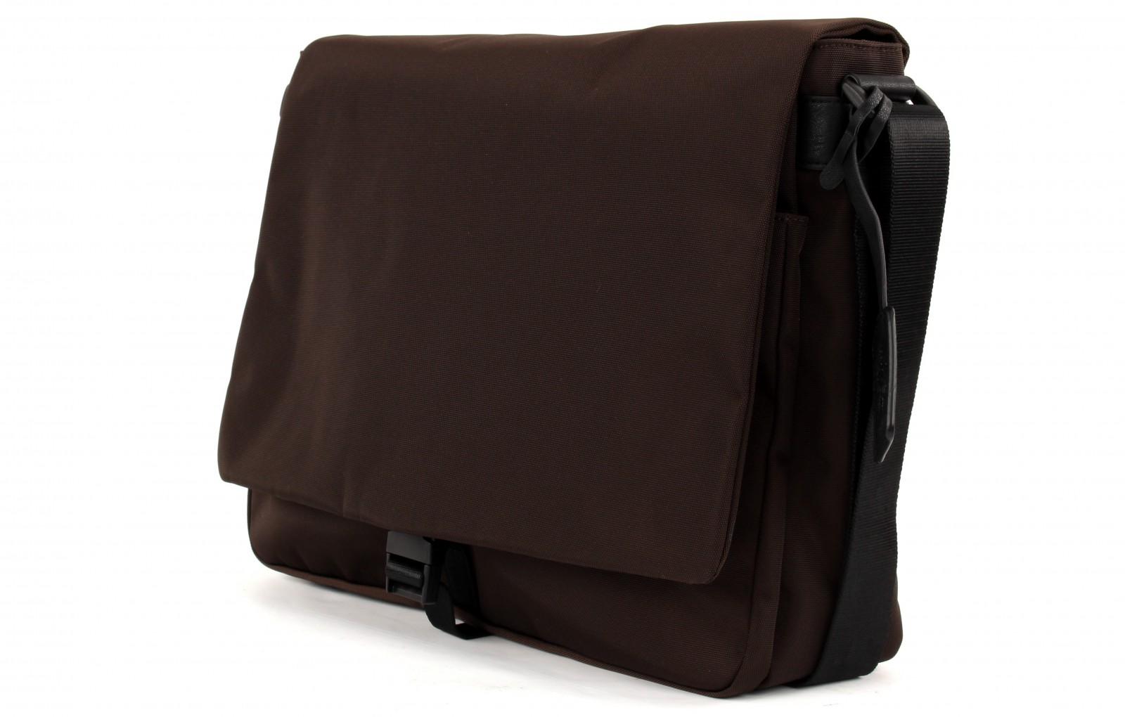LEONHARD HEYDEN Soho Messenger Bag L Brown