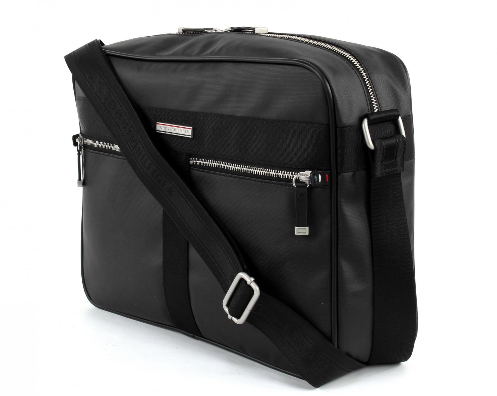 tommy hilfiger cross body bag darren messenger black. Black Bedroom Furniture Sets. Home Design Ideas