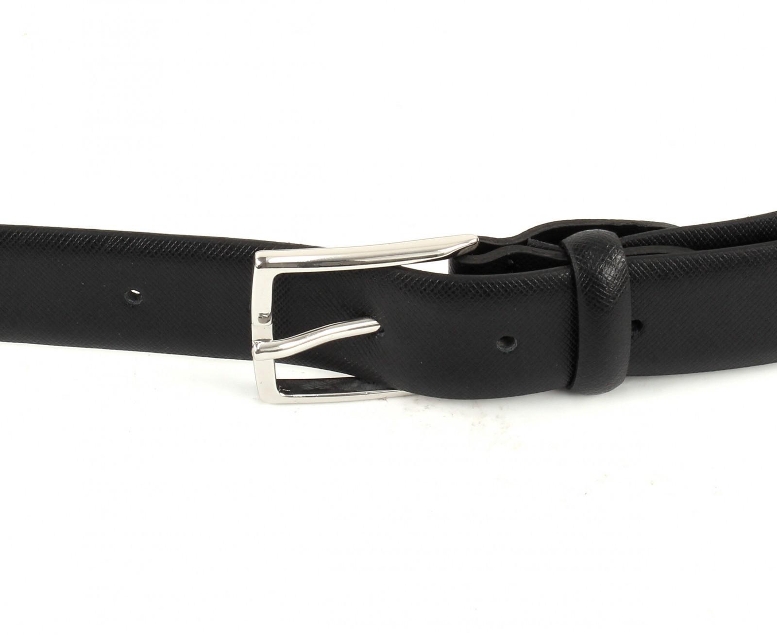Calvin Klein Justin 2 Slim Belt W110 Black