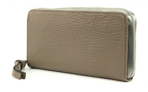 GEORGE GINA & LUCY Leather Nown Waletta Wallet Mudsilver